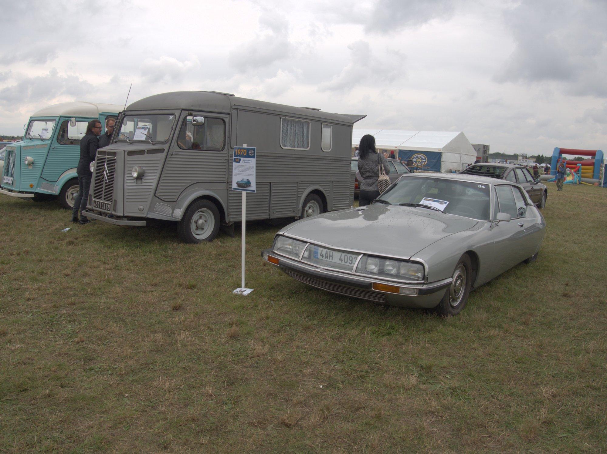Citroën SM s motorem Maserati a Citroën HY