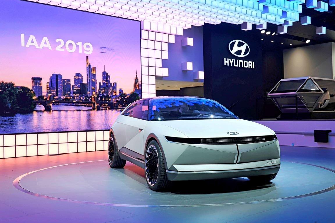 Hyundai 45 - nejnovější koncept ukazuje designérský styl budoucích elektromobilů Hyundai
