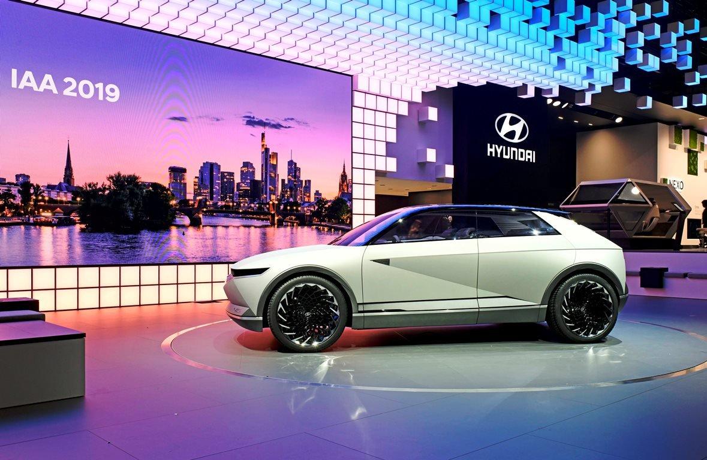 Koncept Hyundai 45: Design budoucích elektromobilů značky