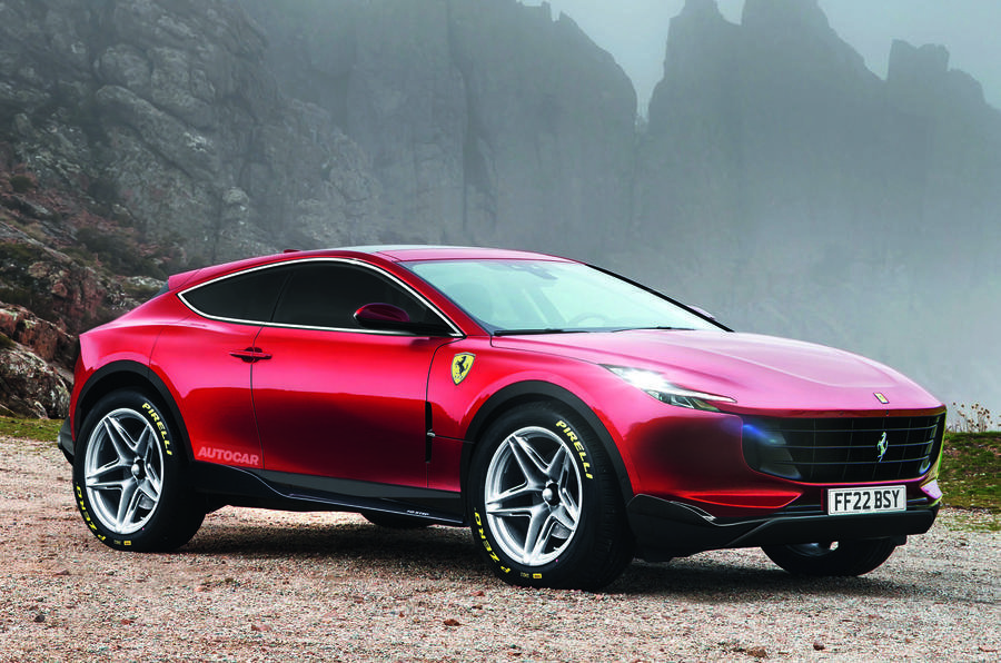 Ferrari připravuje nové SUV a přiznává, že je to výzva - anotační obrázek
