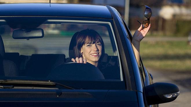 3/4 žen se vidí koncentrovanými a odpovědnými řidičkami