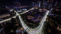 PROHLÁŠENÍ jezdců a zástupců týmů po kvalifikaci na Grand Prix Singapuru - anotační foto