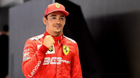 Charles Leclerc po úspěsné kvalifikaci v Singapuru