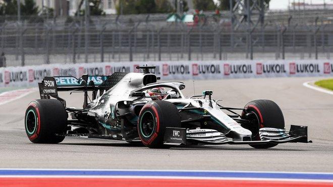 Lewis Hamilton měl v závodě nejlepší tempo