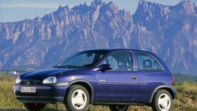 Opel Corsa B byl představen v roce 1993