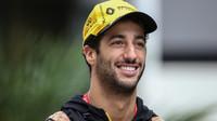 Daniel Ricciardo po kvalifikaci v Soči