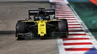 Daniel Ricciardo v kvalifikaci v Soči
