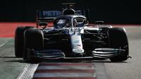 Lewis Hamilton ve Velké ceně Ruska 2019, kterou nakonec vyhrál