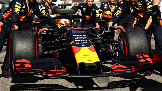 Max Verstappen před závodem v Soči