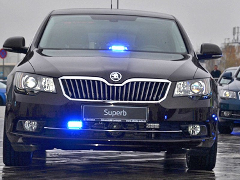 Policie ČR Superb 3,6 V6