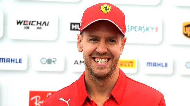 Sebastian Vettel v Japonsku