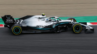 Valtteri Bottas s Mercedesem W10