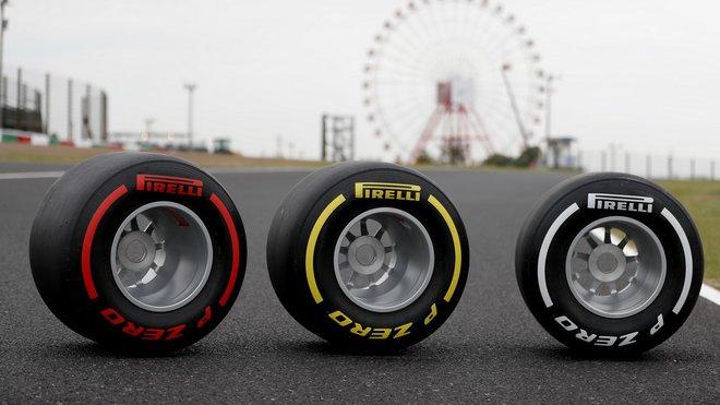 Letošní pneumatiky Pirelli v Japonsku