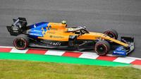 Lando Norris s McLarenem MCL34 v Suzuce