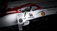 Kimi Räikkönen v závodě v Japonsku