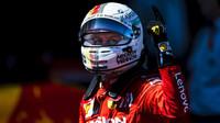 Sebastian Vettel po závodě v Japonsku