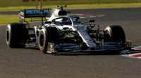Valtteri Bottas v závodě v Japonsku