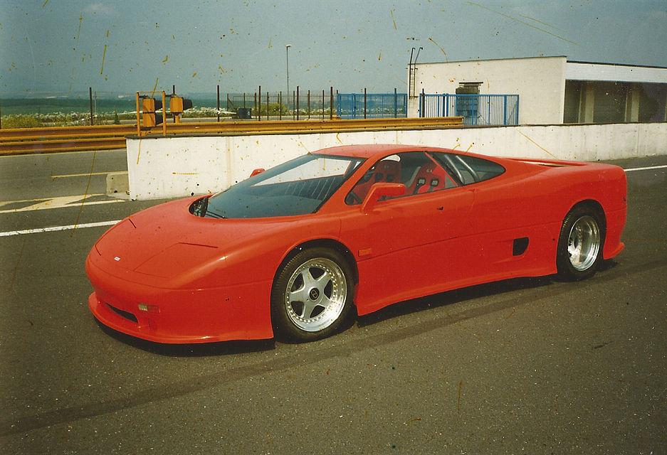 MTX Tatra V8, požár zhatil plány na český supersport - anotační obrázek