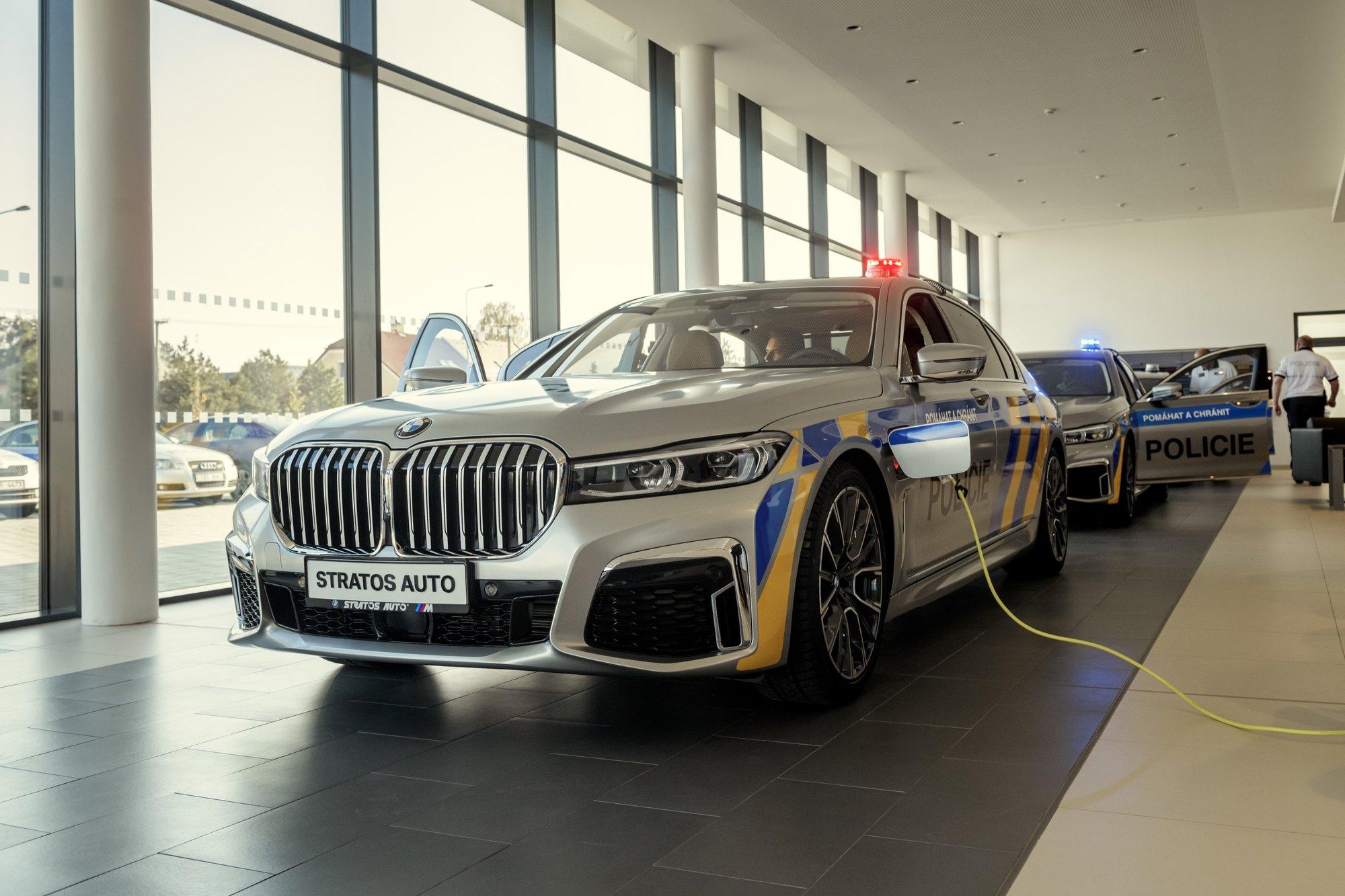 BMW 745Le xDrive pro Policii ČR