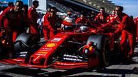 Sebastian Vettel před závodem v americkém Austinu