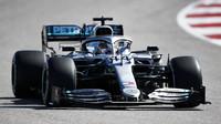 Lewis Hamilton v závodě v americkém Austinu