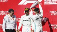 Lewis Hamilton slaví 6. mistrovský titul po závodě v americkém Austinu