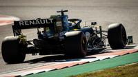 Daniel Ricciardo v závodě v americkém Austinu
