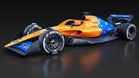 Koncept McLarenu pro sezónu 2021