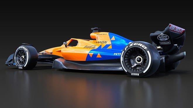Koncept McLarenu pro sezónu 2022