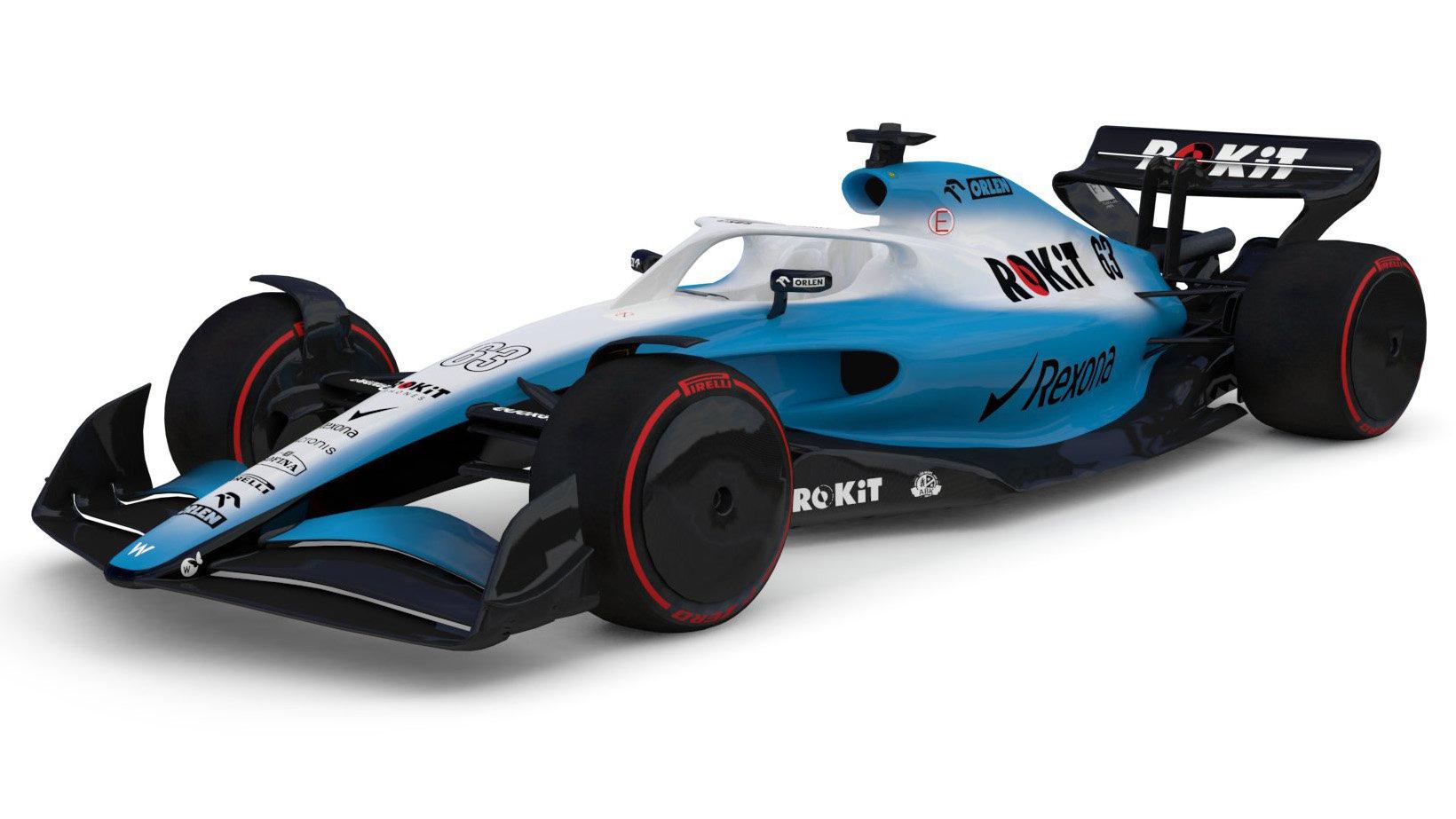 Koncept Williamsu pro sezónu 2021