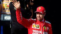 Sebastian Vettel po kvalifikaci v Brazílii