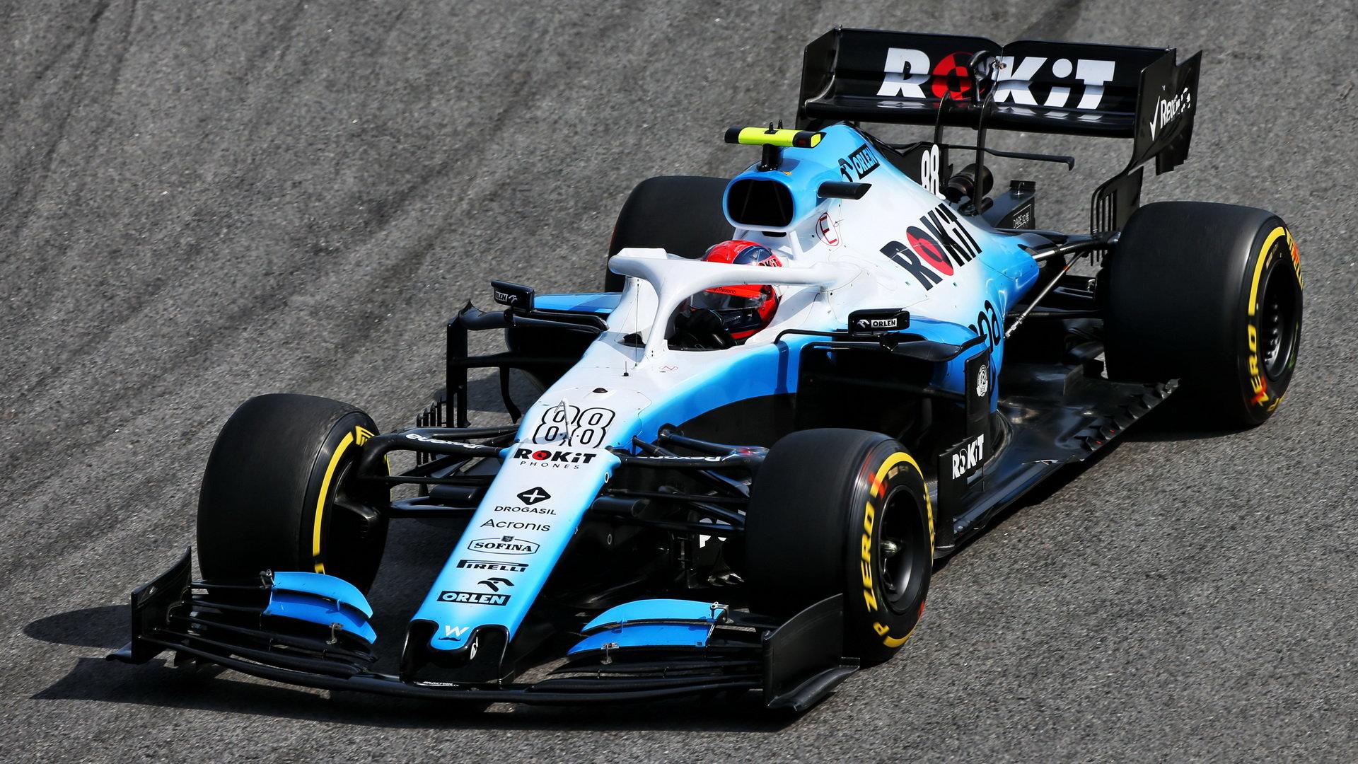 Robert Kubica v závodě v Brazílii