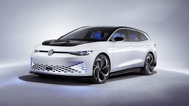 Koncept Volkswagen ID. SPACE VIZZION prezentuje prostorný elektromobil se špičkovou aerodynamikou