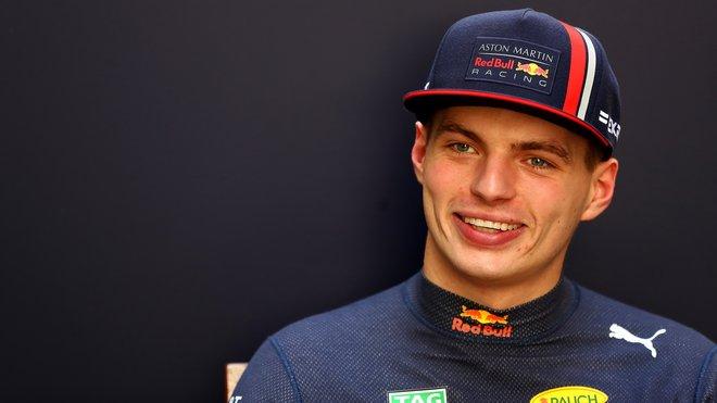 Max Verstappen je v rakouském týmu spokojený