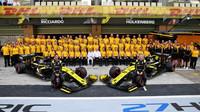 Tým Renault v Abú Zabí