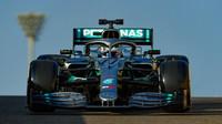 První den testů nejrychlejší Bottas. Piloti zkoušeli nové pneumatiky pro rok 2020, debutoval Nissany - anotační obrázek