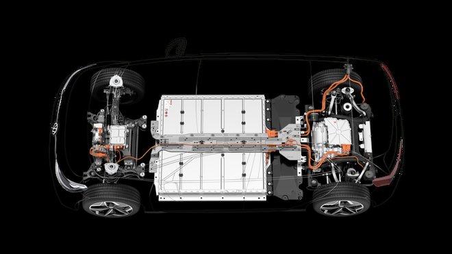 Akumulátorový systém Volkswagenu v modulární platformě MEB pro elektromobily
