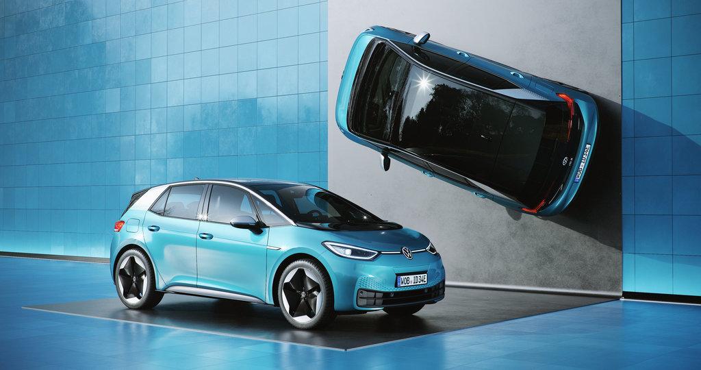 Model ID.3, první elektromobil Volkswagenu při prezentaci