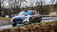 Hyundai sOndřejem Bisahou obsadil na Pražském Rallysprintu pátou příčku - anotační obrázek