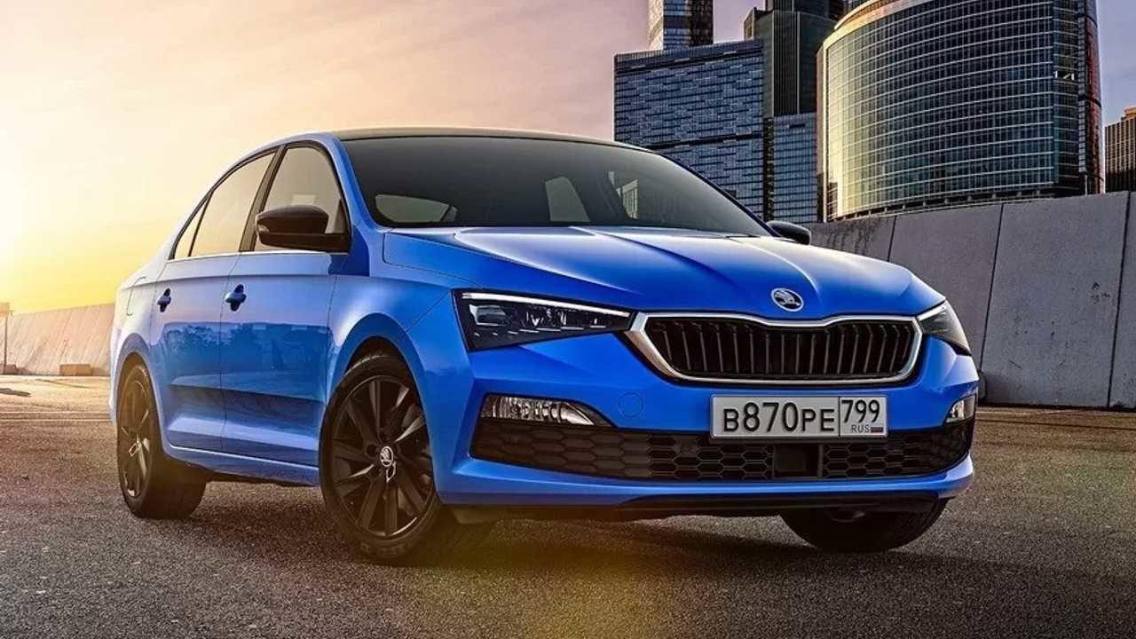 Škoda představila novou generaci Rapida, má atmosférický čtyřválec a cenu pod 300 000 - anotační obrázek