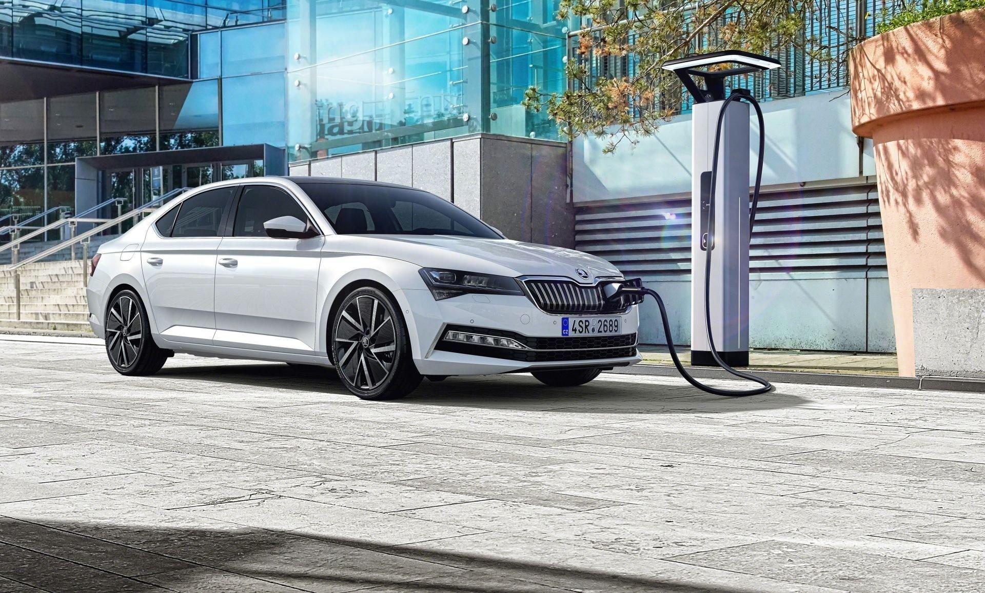 Škoda Superb plug-in hybrid