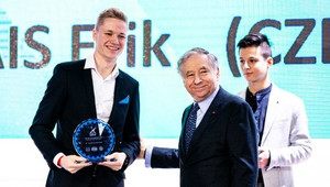 Erik Cais v TOP 10 světových talentů - anotační obrázek