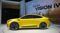 Výrazné linie studie ŠKODA VISION iV již naznačují moderní a sebevědomý vzhled budoucích elektrických vozů ŠKODA.