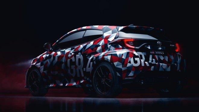 Toyota připravuje představení ostrého modelu Yaris GR-4