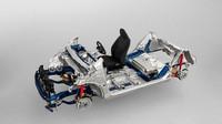 Trakční baterie je umístěna pod zadními sedadly, tím je vytvořen ideální prostor pro pohodlný posez na zadních sedadlech.