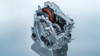 Součásti hybridního ústrojí je trakční elektromotor a generátor-startér.