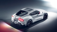 Toyota GR Supra zaujme překrásnými tvary karoserie.