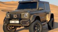 Líbí se Vám Mercedes Benz G500 4 × 4², ale nevejde se Vám do garáže? Máme pro Vás alternativu - anotační foto