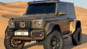 Líbí se Vám Mercedes Benz G500 4 × 4², ale nevejde se Vám do garáže? Máme pro Vás alternativu - anotační obrázek