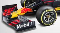 Přední křídlo nového Red Bullu RB16